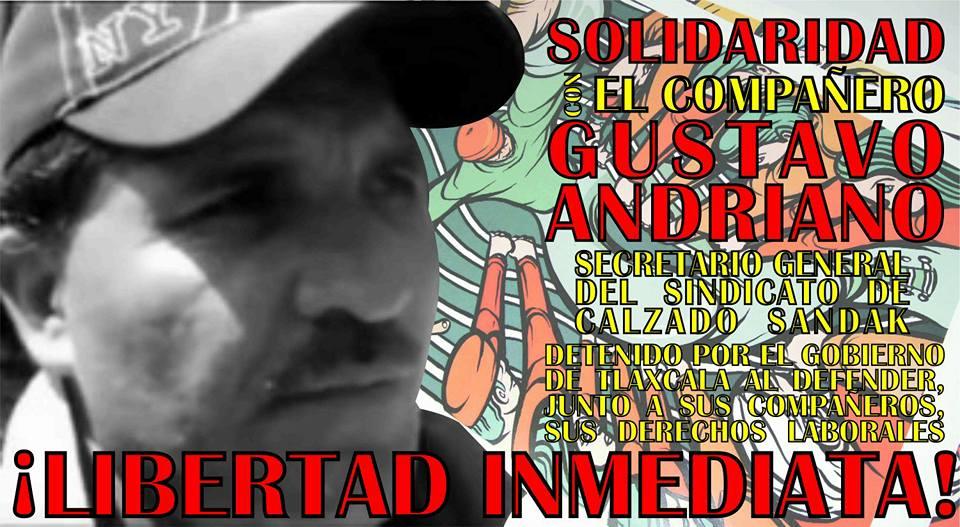 ¡Libertad para Gustavo Labastida!
