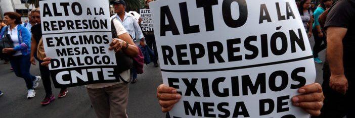 El FAT exige solución a las demandas del magisterio democrático y alto a la criminalización de la protesta social