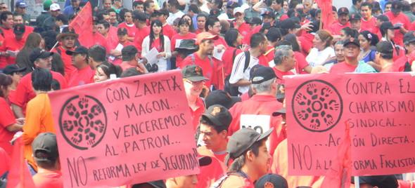 Postura del Frente Auténtico del Trabajo ante la inconstitucional iniciativa de reforma a la ley federal del trabajo de CTM y CROC.